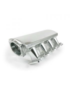 TSP_Velocity_Cathedral_Port_Intake_Front_Angle_Clear_Anodized_81001