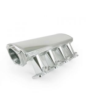 TSP_Velocity_Raised_Rectangle_Port_Intake_Front_Angle_Clear_Anodized_81007