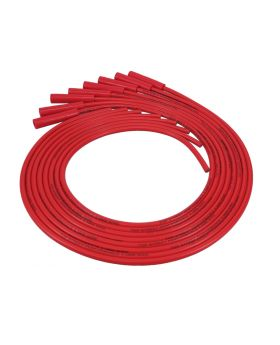 Universal LS/LT Spark Plug Wire Set, 8.5mm with 180° Plug Boots, Red