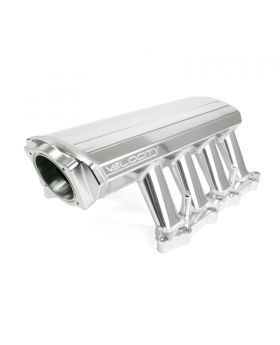 TSP_Velocity_Coyote_Intake_Manifold_Front_Angle_Clear_Anodized_84050