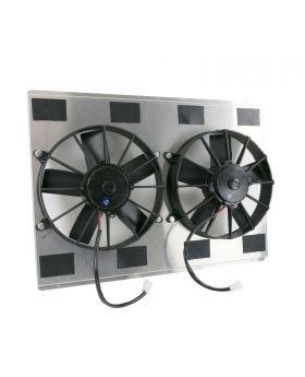 TSP_23.75_Aluminum_Dual_Fan_Shroud_Kit_Angle_HC8512D