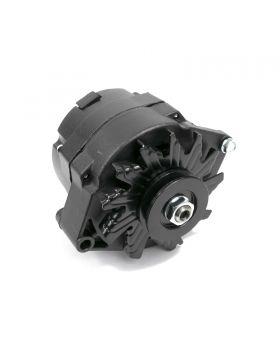 TSP_GM_10SI_110_Amp_Alternator_Black_V-belt_ES1001BK