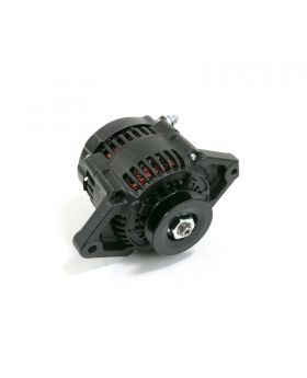 TSP_Denso_Mini_90_Amp_Alternator_Black_V-belt_ES1004BK