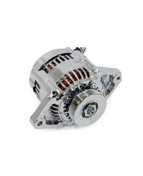 TSP_Denso_Mini_90_Amp_Alternator_Chrome_V-belt_ES1004