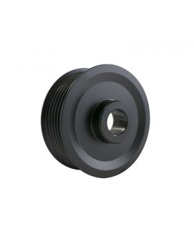 TSP_Denso_Style_Alternator_Black_Steel_Serpentine_Pulley_ES1095