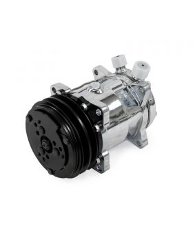 TSP_Chrome_Sanden_508_Compressor_Black_V-belt_Clutch_HC5001