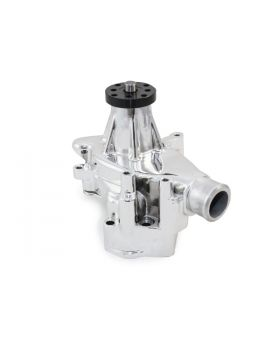 TSP_Water_Pump_Chevy_Small_Block_Long_Chrome_Angle_HC8012