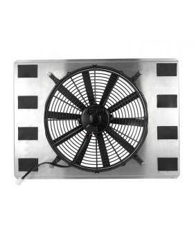 TSP_23.75_Aluminum_Single_Fan_Shroud_Front_HC8512