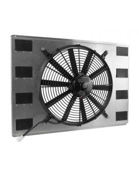 TSP_23.75_Aluminum_Single_Fan_Shroud_Angle_HC8512
