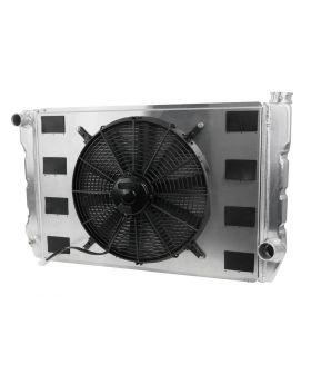 Universal Chevy Single Fan Pro Flow Radiator Kit