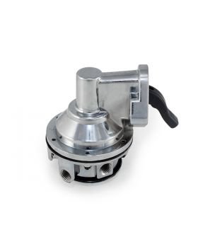 TSP_Chevy_Small_Block_Mechanical_Fuel_Pump_Chrome_Side_JM1003