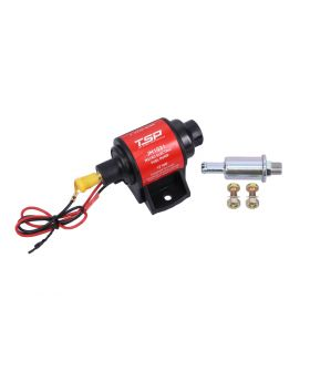 Micro Electric 28 gph 2-3.5 PSI Gasoline Fuel Pump with Filter for Carburetor
