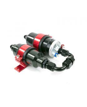 TSP_044_Style_Electric_Pump_Filter_Bracket_Kit_Red_Rear_Angle_JM1040-KT
