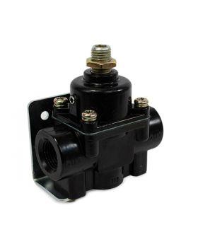 TSP_Fuel_Pressure_Regulator_4.5-9_PSI_Black_Front_JM1056