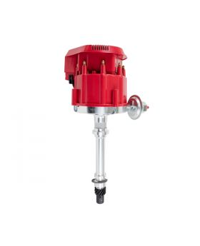 TSP_Chevy_V8_HEI_Distributor_Super_Cap_Red_JM6500