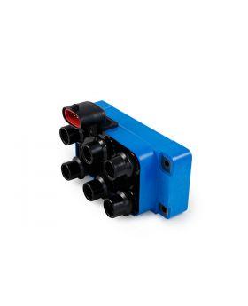 TSP_Ford_89-00_V6_EDIS_Ignition_Coil_Vertical_Connector_Blue_Front_JM6808