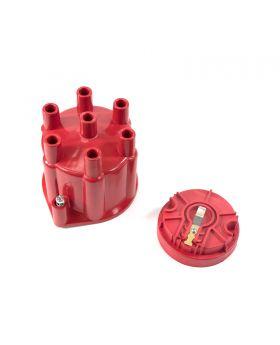 TSP_Pro_Series_Distributor_V6_Female_Cap_Rotor_Kit_Red_JM6976