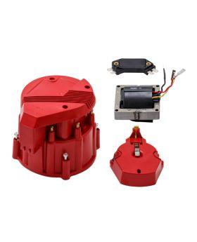 TSP_V8_HEI_Distributor_Super_Cap_Tune-Up_Kit_Red_JM6991