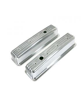 TSP_Cast_Aluminum_Valve_Covers_Chevy_Small_Block_V8_Center_Bolt_Breather_Holes_Finned_Polished_JM8501-6