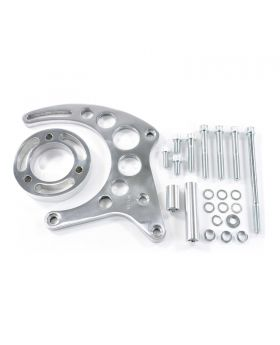 TSP_Aluminum_Chevy_Small_Block_Long_Water_Pump_Alternator_Bracket_Polished_JM9121