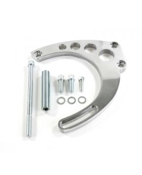 TSP_Aluminum_Chevy_Big_Block_Long_Water_Pump_Alternator_Bracket_Polished_JM9123