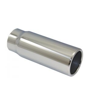 TSP_Polished_Stainless_Steel_Exhaust_Tip_2.5x3x8_Straight_Edge_SP2802