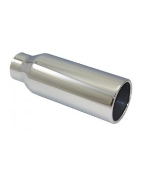 TSP_Polished_Stainless_Steel_Exhaust_Tip_2.25x3.5x10_Straight_Edge_SP2806