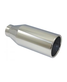 TSP_Polished_Stainless_Steel_Exhaust_Tip_2.25x4x9.5_Straight_Edge_SP2807