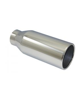 TSP_Polished_Stainless_Steel_Exhaust_Tip_2.5x4x10_Straight_Edge_SP2808
