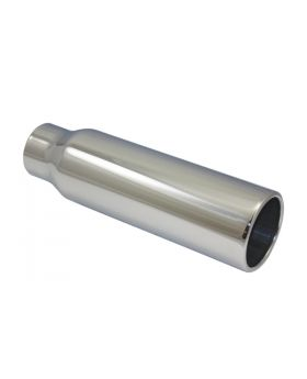 TSP_Polished_Stainless_Steel_Exhaust_Tip_2.5x3.5x12_Straight_Edge_SP2813