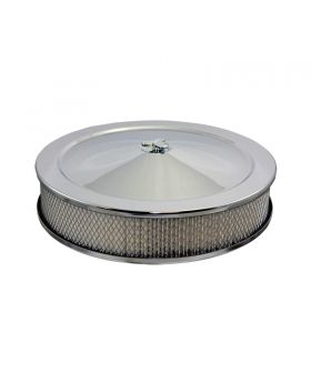 TSP_Recessed_Base_Muscle_Car_Style_Air_Cleaner_Kit_Chrome_Steel_SP4300