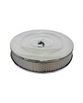 TSP_Recessed_Base_Performance_Style_Air_Cleaner_Kit_Chrome_Steel_SP4320