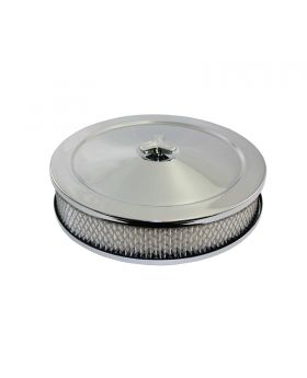 TSP_10-Inch_Raised_Base_Muscle_Car_Style_Air_Cleaner_Kit_Chrome_Steel_SP4360