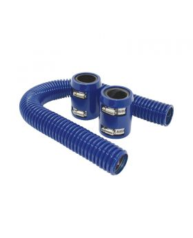 TSP_Flexible_Radiator_Hose_With_Caps_24-Inch_Blue_Stainless_Steel_SP6355