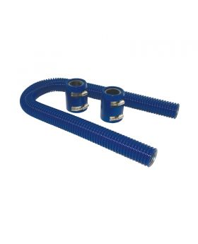 TSP_Flexible_Radiator_Hose_With_Caps_36-Inch_Blue_Stainless_Steel_SP6358