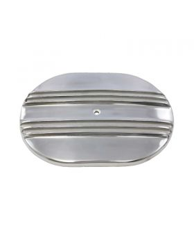 TSP_12_Oval_Air_Cleaner_Top_Half_Finned_Polished_Aluminum_SP6496A