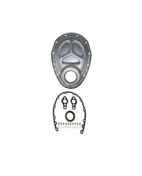TSP_Chevy_Small_Block_Timing_Cover_Kit_Unplated_Steel_SP7122XKIT