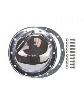 TSP_GM_8.2_8.5_10-Bolt_Differential_Cover_Kit_Chrome_Steel_SP7125KIT