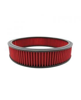 TSP_14x3_Round_Air_Filter_Element_Red_Washable_Synthetic_SP7143