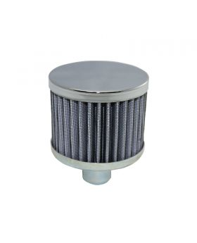 TSP_3_Round_Push-In_Washable_Filter_No-Lip_Breather_Chrome_Steel_SP7177