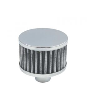 TSP_2_Round_Push-In_Washable_Filter_No-Lip_Breather_Chrome_Steel_SP7187