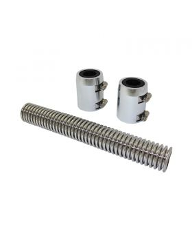 TSP_12_Flexible_Radiator_Hose_Kit_With_End_Caps_Polished_Stainless_Steel_SP7351