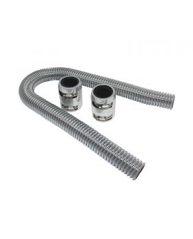 TSP_36_Flexible_Radiator_Hose_Kit_With_End_Caps_Polished_Stainless_Steel_SP7353