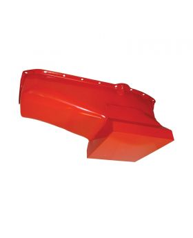 TSP_Chevy_Small_Block_V8_High-Capacity_Racing_Style_Oil_Pan_Orange_Steel_SP7435