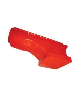 TSP_Chevy_Big_Block_V8_High-Capacity_Racing_Style_Oil_Pan_Orange_Steel_SP7437