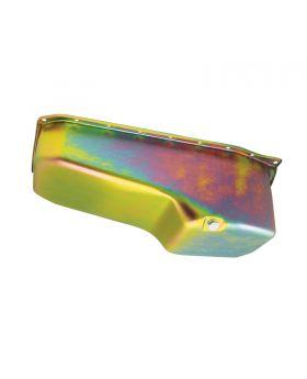 TSP_Chevy_Small_Block_V8_86-Up_Passenger_Dipstick_Oil_Pan_Gold_Zinc_Steel_SP7441Z