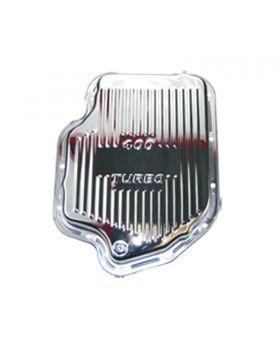 TSP_GM_Turbo_400_Transmission_Pan_Raised_Finned_Chrome_Steel_SP7493