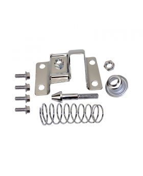 TSP_67-81_Camaro_Firebird_68-69_Chevelle_Hood_Latch_Kit_Chrome_Steel_SP7529