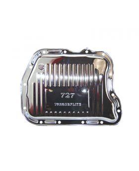 TSP_Chrysler_TorqueFlite_727_Raised_Finned_Transmission_Pan_Chrome_Steel_SP7598