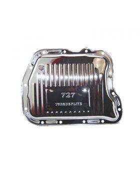 TSP_Chrysler_TorqueFlite_727_Raised_Finned_High_Capacity_Transmission_Pan_Chrome_Steel_SP7598D